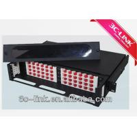 Wholesale Waterproof 1 U 48 Ports Rack Mount Aluminum High Density Fiber Patch Panel from china suppliers