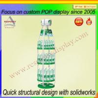 Wholesale Fashionable Bottle Shape Metal Drinks Display Shelf from china suppliers