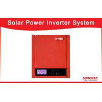 Buy cheap Red 1000VA 720W Solar Power Inverters with LCD Display for Office Appliances from wholesalers