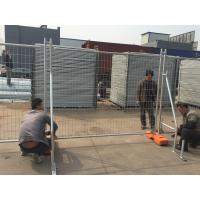 Wholesale Economist Temporary Fence -14 microns per-galvanized 2100mm x 2400mm height AS4687-2007 from china suppliers