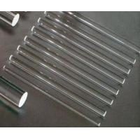 Wholesale Transparent solid quartz glass rod from china suppliers