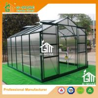 Wholesale 10'x8'x6.7'FT Green Color Double Door Traditional Series Garden Greenhouse from china suppliers