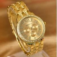 Wholesale Gold Gilding Watch Business Style Fashion Watch for Men or Women from china suppliers