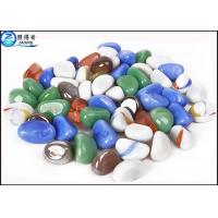 Wholesale OEM Natural Color Fish Aquarium Gravel / Fish Tank Stone For House Decorations from china suppliers