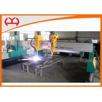 Wholesale High Efficiency Industrial CNC Plasma Cutter Flame / Plasma Gantry Cutting Machines from china suppliers