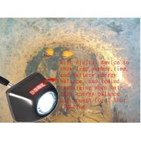 Wholesale 4500lux rechargeable underground coal miner cap lamp waterproof ip65 from china suppliers