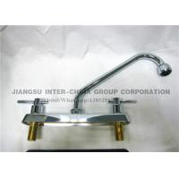 Wholesale Wall Mounted Pull Down Kitchen Sink Faucets , Polished Brass Bathroom Faucets from china suppliers