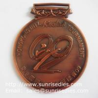 Wholesale Metal Karate Tournament Medals, Personalized Alloy Karatedo Winner Prize Medals from china suppliers