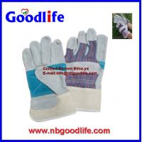 Wholesale Hot sale cow leather glove ,AB grade,white cow gloves for welding from china suppliers