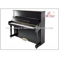 Wholesale 88 Key Keyboard Piano , Cast Iron Frame Black Polished Silent Upright Piano from china suppliers