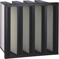Buy cheap Media Plastic Frame Fiberglass Air Filters Air Handling Unit from wholesalers