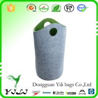 Wholesale Competitive Price felt Dirty Clothes Waterproof Laundry Bag dorm bag from china suppliers