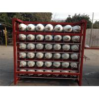 Buy cheap Custom 200 Bar / 250 Bar Ground CNG Storage Tanks / Cascade Tank For Gas Filling Stations from wholesalers