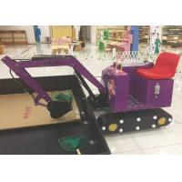 Wholesale Customized Kids Excavator Digger Mini Digger Children's Toys Electric Game Machine from china suppliers