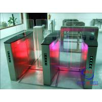 Wholesale Building Time Attendance Swing Gate Turnstile , Swipe Card Speed Gate Systems from china suppliers
