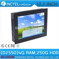 Wholesale 12 inch TouchScreen Mini PC Computer All IN ONE PC Five wire Gtouch using high-temperature ultra thin panel from china suppliers