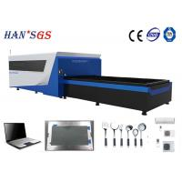 Wholesale 500W 1KW 2KW CNC Sheet Metal Laser Cutting Machine / Fiber Laser Cutter from china suppliers