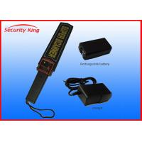 Wholesale Professional Sensitive Adjustable Metal Detector Handheld For Security Body Check from china suppliers