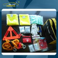 Wholesale PVC Roadside Emergency Kits , Auto Cargo Emergency Kit For Travel from china suppliers