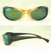 Wholesale Uni-sex Designed Sport Sunglasses, Various Color Frames Available from china suppliers