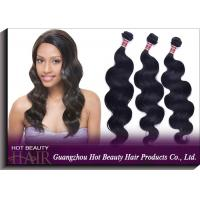 Wholesale 16 Inch Peruvian Virgin Human Hair Extensions Natural Black 100g from china suppliers