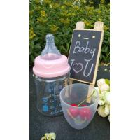 Wholesale 150ml With Teat Borosilicate Baby Glass Water Bottle For Milk And Water from china suppliers