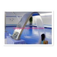 Wholesale Fully SS Swimming Pool Accessories Waterfall For Massage Human Body Any Sizes from china suppliers
