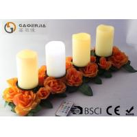 Wholesale Battery Operated Advent Candles , Flameless Candles With Remote from china suppliers