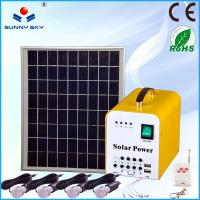 Wholesale mini portable solar pv system solar lighting kit solar power cost solar power genrator on sale from china suppliers