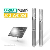 Buy cheap HYBRID SOLAR PUMP 4SP14/2 | MAX FLOW 25.5M3 | MAX HEAD 26M | AUTO AC/DC from wholesalers