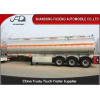 Wholesale 33000 Liters Fuel Tanker Semi Trailer Heavy Capacity Fuel Tank Truck Trailer from china suppliers