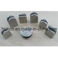 Stainless Steel D shape Round Glass Clamps 40x50mm Fit 6-8mm Glass for Glass Railing Handrail and balustrade