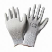Wholesale PU Coated Working Gloves with Anti-oil and Grease  from china suppliers