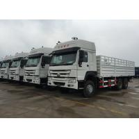 Wholesale Light Goods HOWO Economic Cargo Vehicles 25 Tons 6X4 LHD Euro 2 290 HP Two Berth from china suppliers