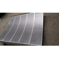 Wholesale Standard  8mm pitch stainless steel perforated sheets suppliers with  1219mm width from china suppliers