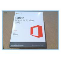 Quality Microsoft Office 2016 Home And Student Edition Pc Download Lifetime Activation for sale