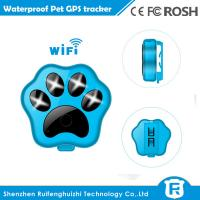 Wholesale RF-V30 smart wifi anti-lost small waterproof cheap pet gps tracker from china suppliers