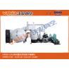 Buy cheap Helmet Visors Thermal Evaporation Coating Unit Horizontal Metallizing Coating Machine from wholesalers