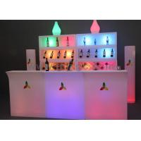 Wholesale Commercial bar counter  furniture with remote control change different colors from china suppliers