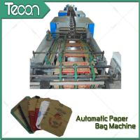 Quality Bevel Gear Full Automatic Paper Bag Making Machine with Siemens Screen Control for sale