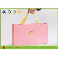 Wholesale Luxury Kraft Paper Bags Foldable Custom Paper Shopping Bags With Cotton Rope from china suppliers