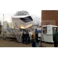Wholesale Immersive 6 DOF hydraulic / electric 4D Motion Simulator for amusement park from china suppliers