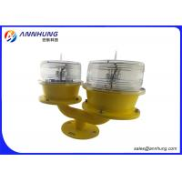 Wholesale DC 6.4V Solar Aviation Obstruction Light / Double OB Low Intensity Light from china suppliers