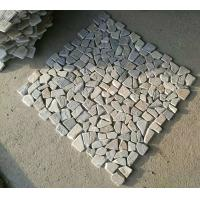 Wholesale Oyster Quartzite Pebble Mosaic,Natural Stone Mosaic Pattern,Pebble Mosaic Wall Tiles,Interior Stone Mosaic from china suppliers