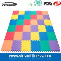 Wholesale martial arts taekwondo tapis WTF approved puzzle EVA interlocking karate foam from china suppliers