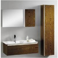 Wholesale Fashion Plywood with Wooden Veneer Bathroom Cabinet (BL-110) from china suppliers