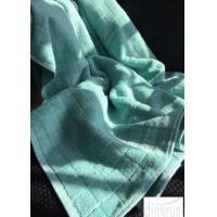 Wholesale Thick Lattice Design quick dry bath sheet , Customized Colorful spa bath towels 100*180cm from china suppliers