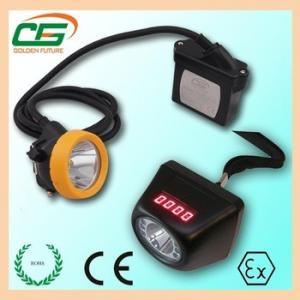 Wholesale ATEX 1 Watt IP65 LED Miners Cap Lamp IP65 CE EMC , Digital LED Mining Cap Lamp from china suppliers