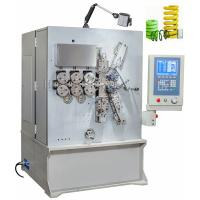 Wholesale Vertical Grey White Painting CNC Spring Coiler Servo Drive Controlled High Efficiency from china suppliers
