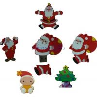 Wholesale 2D Christmas Flash Drive promotion MOQ 100pcs customized shape from china suppliers